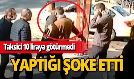 Adana'da 10 liraya evine götürmeyen taksicinin aracını çaldı