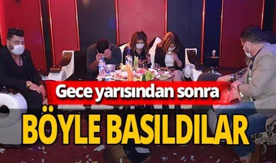 Adana'da eğlence mekanına baskın! 25 kişiye ceza kesildi