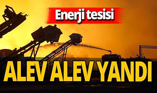 Adana'da enerji tesisine yıldırım düştü! Yangına itfaiye ekipleri müdahale ediyor