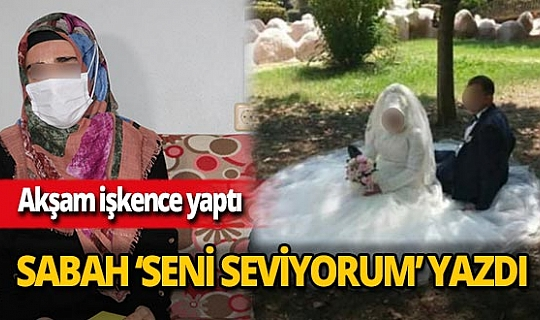 Adana'da genç kadına dehşeti yaşattı!