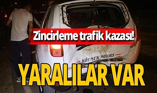 Adana'da zincirleme trafik kazası! Çok sayıda yaralı var