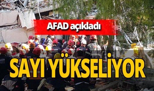 AFAD'dan İzmir'deki depremle ilgili son dakika açıklaması