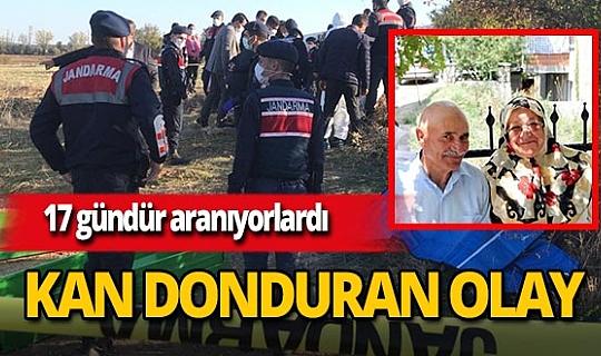 Afyonkarahisar'da Cevdet Uysal ve Zeliha Uysal çiftine ait olduğunu düşünülen 2 ceset bulundu