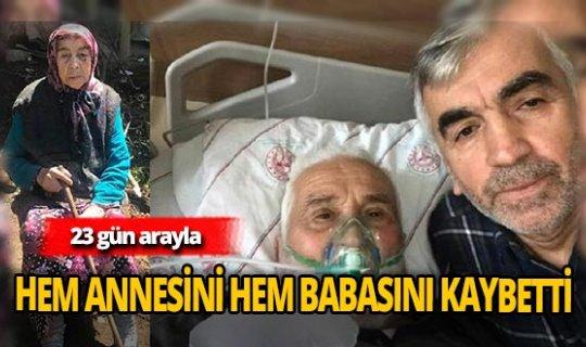 Ahmet Demirci anne babasını koronadan kaybetti