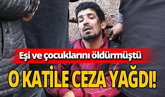 Ailesini öldüren Abdulhannan Elalevi'nin cezası belli oldu!