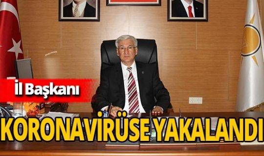 AK Parti Hatay İl Başkanı Mehmet Yeloğlu, koronavirüse yakalandı