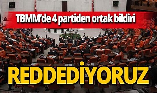 AK Parti,CHP, MHP ve İYİ Parti'den ABD'nin yaptırım kararına ortak tepki