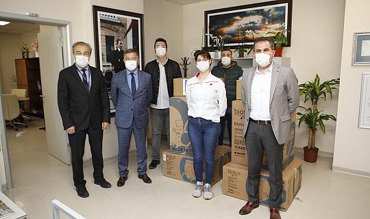 Akdeniz Üniversitesi Hastanesi'ne ventilasyon cihazı bağışı yapıldı