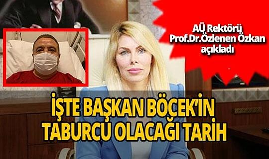 """Akdeniz Üniversitesi Rektörü Prof. Dr. Özlenen Özkan: """"Muhittin Böcek'in taburcu olması 10 gün sürebilir"""""""