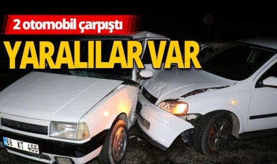 Aksaray'da trafik kazası!