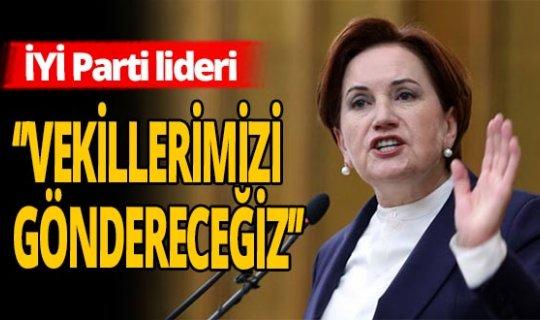 Akşener'den Azerbaycan'a büyük destek