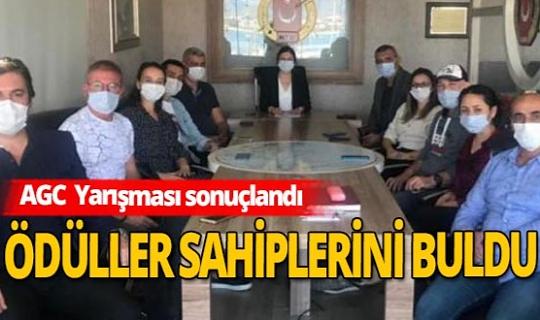 Alanya'da başarılı bulunan gazeteciler ödüllendirildi