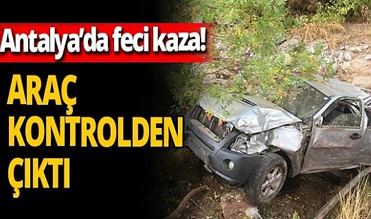 Alanya'da feci kaza! Ölü ve yaralılar var