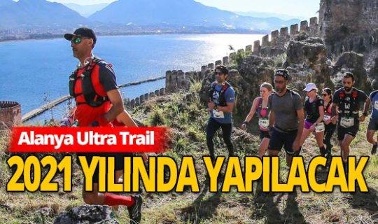 Alanya Ultra Trail 2021'in tarihi belli oldu