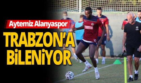 Alanyaspor, Trabzonspor maçı hazırlıklarına devam etti