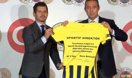 Ali Koç, Emre Belözoğlu'nu açıkladı