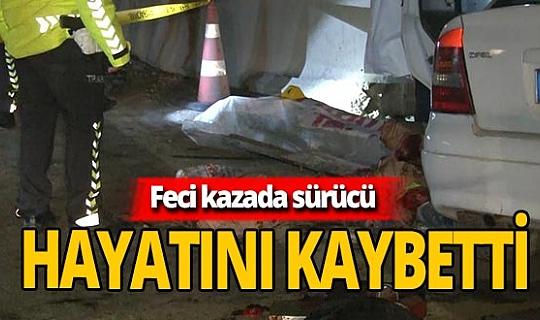 Ankara'da feci kaza! 1 kişi hayatını kaybetti 2 kişi  yaralandı