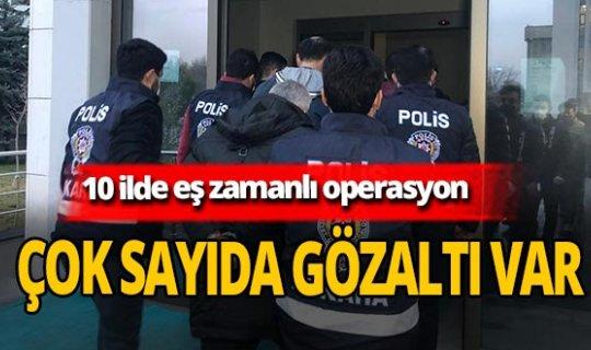 Ankara'da FETÖ operasyonu! 29 şüpheli gözaltına alındı