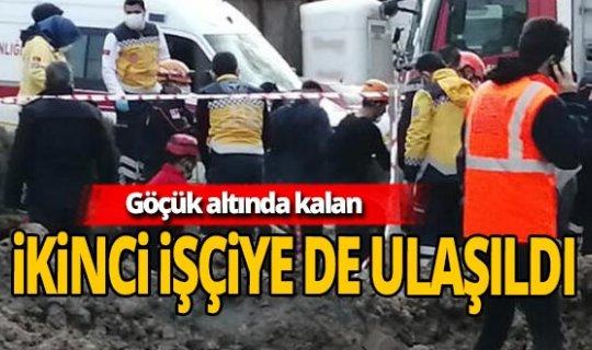 Ankara'da göçük altında kalan ikinci işçiye de ulaşıldı