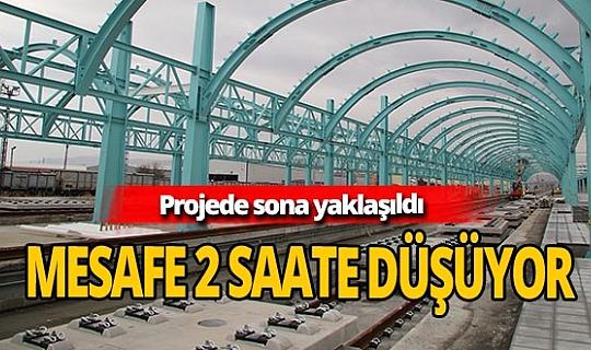 Ankara - Sivas arası 2 saate düşüyor!