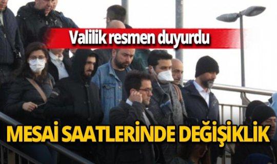 Ankara Valiliği'nden mesai saati düzenlemesi
