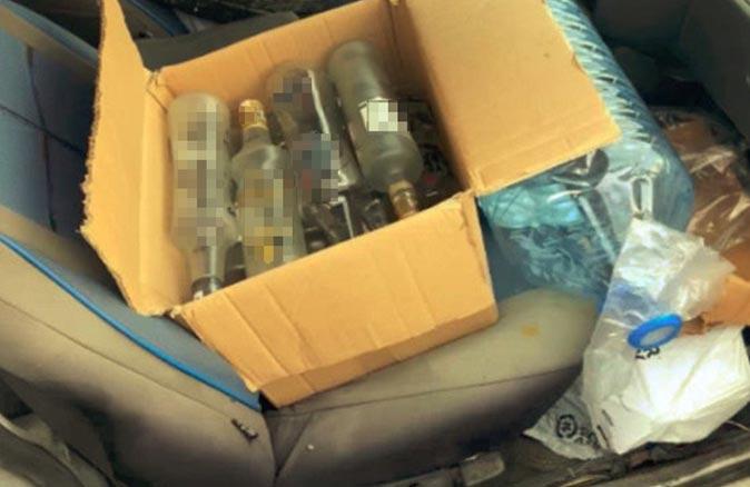 Antalya'da 15,5 ton sahte içki ele geçirildi