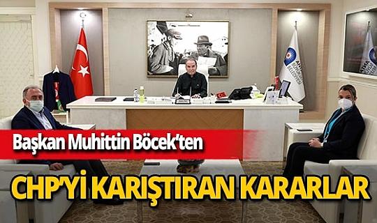 Antalya Büyükşehir Belediye Başkanı Muhittin Böcek'ten CHP'yi karıştıran hamleler!