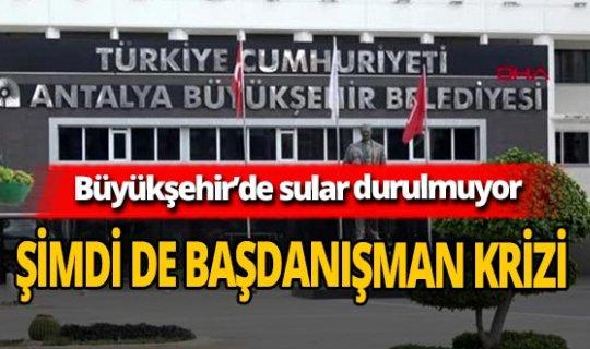 Antalya Büyükşehir Belediyesi'nde sular durulmuyor! Başdanışman Cem Oğuz'un birkaç kurumdan maaş aldığı iddia edildi