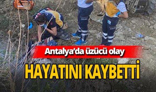 Antalya'da 50 yaşındaki Veysel Demirday hayatını kaybetti