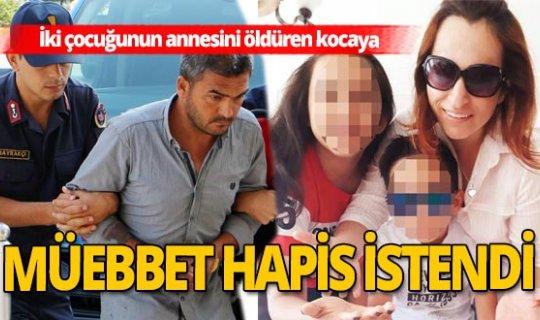 Antalya'da boşanmak isteyen eşini öldürdü