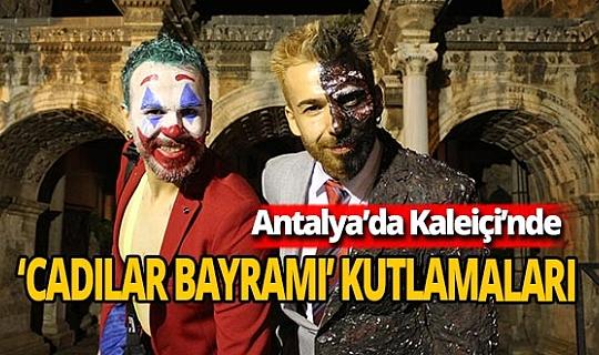 Antalya'da 'Cadılar Bayramı' coşkuyla kutlandı
