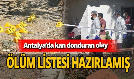 Antalya'da çifte cinayet işlemişti! Olayın ayrıntıları şoke etti