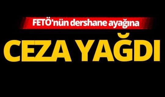 Antalya'da FETÖ'nün dershane ayağına ceza yağdı