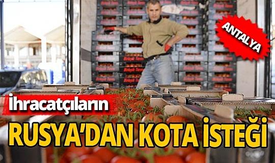 Antalya'da ihracatçıların isteği: 'Rusya, domates kotasını tamamen kaldırmalı'