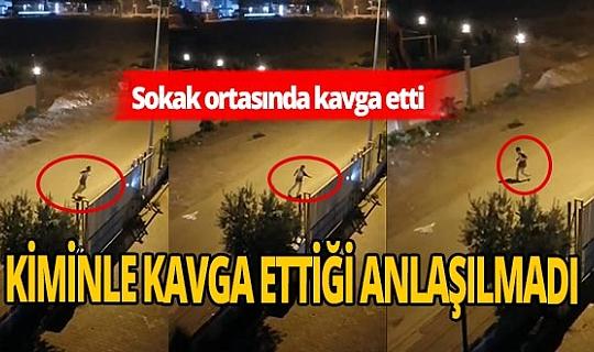 Antalya'da ilginç olay! Hayali biri ile kavga etti