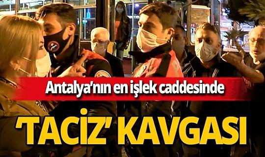 Antalya'da kadın turistlerin taciz iddiası ortalığı karıştırdı