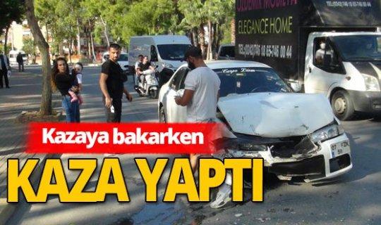 Antalya'da kaza üstüne kaza yaşandı