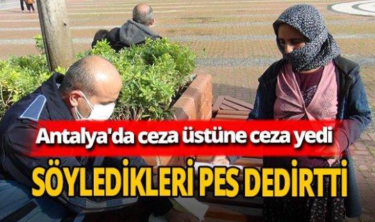 """Antalya'da pes dedirten dilenci! """" 50 tane ceza yazıldı hiçbirini ödemedim bunu da ödemem"""""""