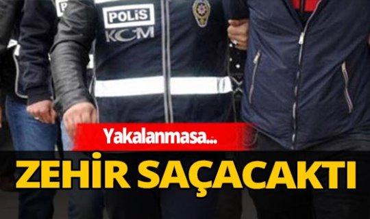Antalya'da 'zehir taciri' kıskıvrak yakalandı