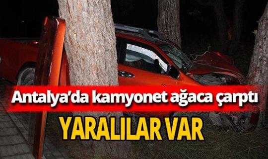 Antalya'daki kazada Sinan Tüter ve Kadirhan Berber yaralandı
