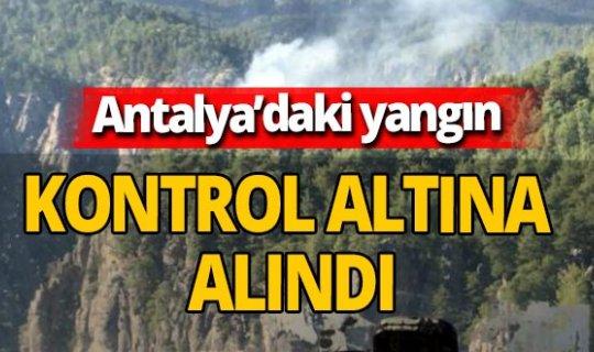 Tazı Kanyonu'ndaki yangından iyi haber geldi
