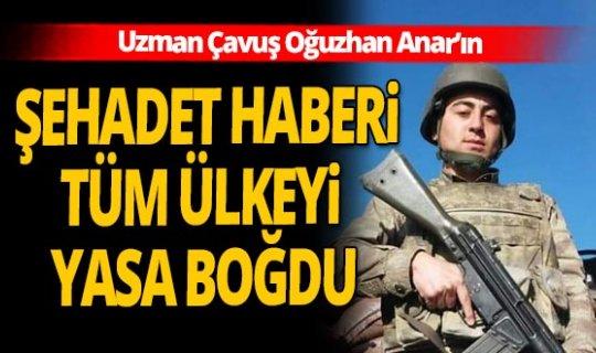 Antalya'dan sonra Ankara'ya da şehit ateşi düştü