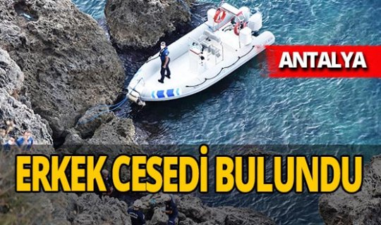 Antalya falezlerde Mahmut Akova'nın cansız bedeni bulundu