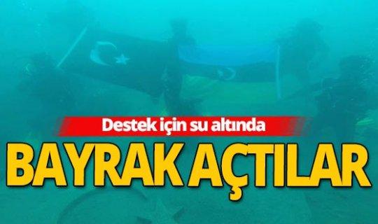 Antalya haber: Azerbaycan'a su altından destek