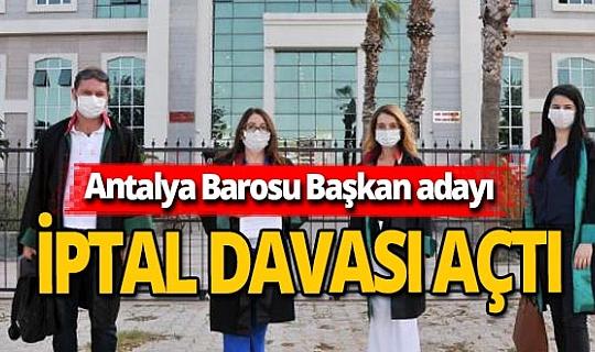 Antalya haber: Başkan adayından dava