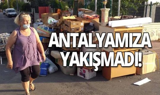 Antalya haber: Kanser hastası Polonyalı kadın ile oğlunu sokağa attılar