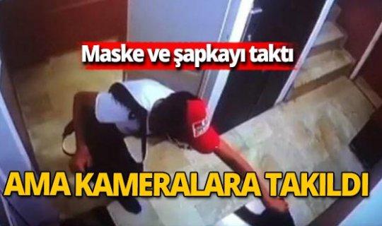 Antalya haber: Maskeli ayakkabı hırsızı kameralara takıldı