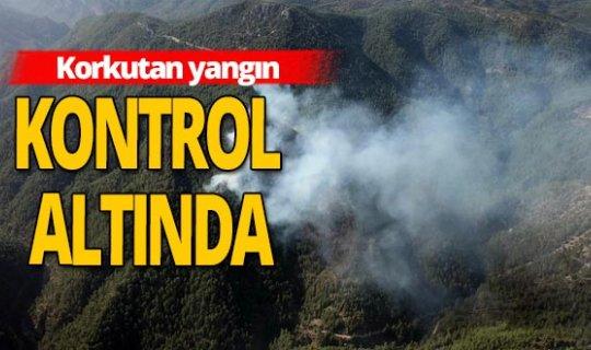 Antalya haber: Orman yangını büyük oranda kontrol altına alındı