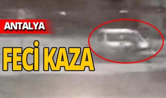 Antalya haber: Otomobille motosiklet çarpıştı