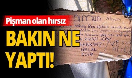 Antalya haber: Sahibine 'affedin' notu yazdı